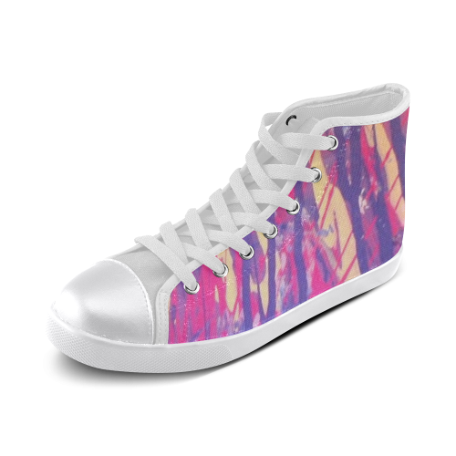 9586512719_5bced1f0ee_z Women's High Top Canvas Shoes (Model 002)