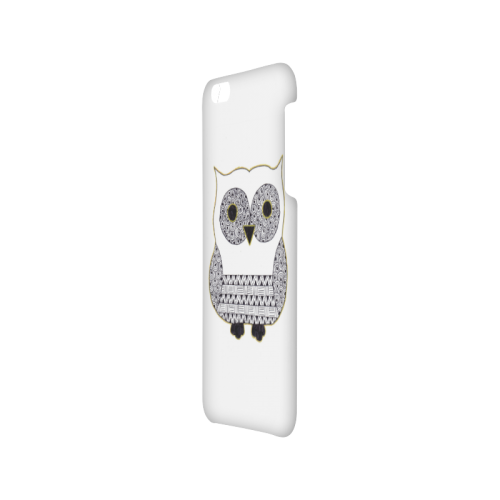Black and White Owl Hard Case for iPhone 6/6s plus