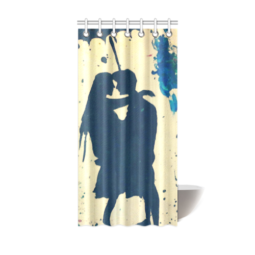 "color of life original Shower Curtain 36""x72"""