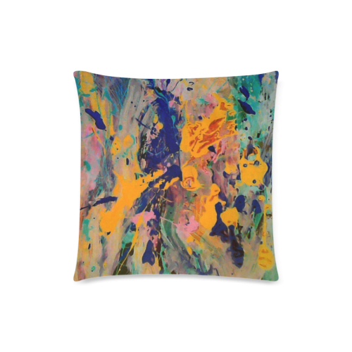 """music art2 Custom Zippered Pillow Case 18""""x18""""(Twin Sides)"""