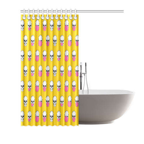 "Be refreshed ... chew! Shower Curtain 66""x72"""