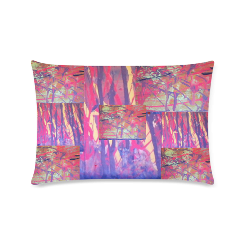 """1004250 Custom Zippered Pillow Cases 16""""x24""""(Twin Sides)"""