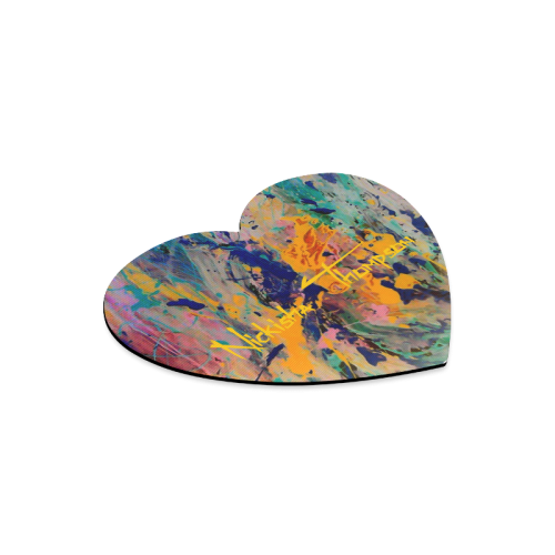 music art2 Heart-shaped Mousepad