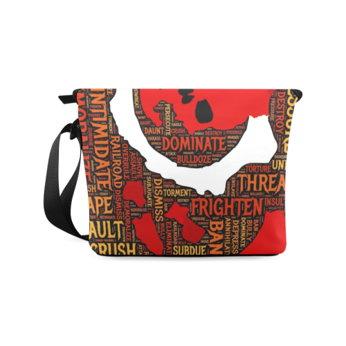 Agression Crossbody Bag/Large (Model 1631)