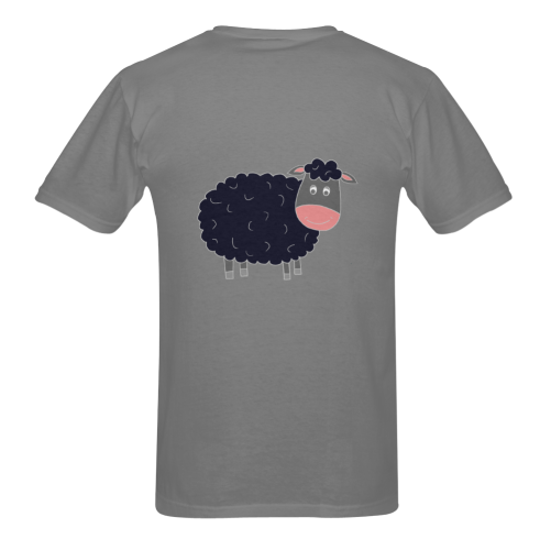 Black or White Sheep? Sunny Men's T- shirt (Model T06)