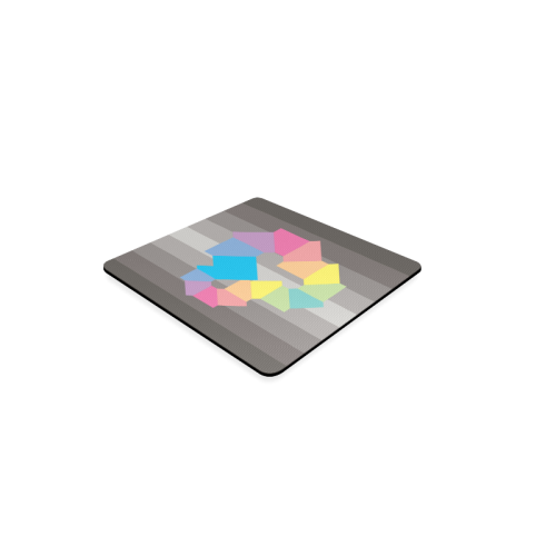 Square Spectrum (Rainbow) Square Coaster