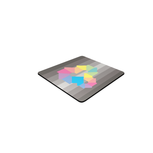 Square Spectrum (Rainbow) Square Coaster