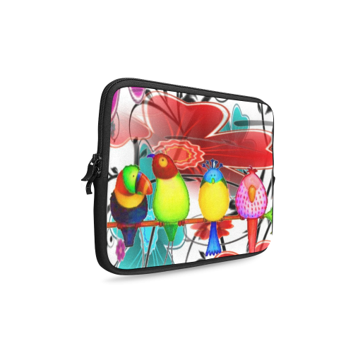 Birds of A Different Color Laptop Sleeve 10''