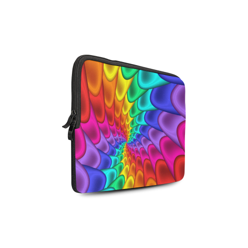 Psychedelic Rainbow Spiral Macbook Air 11''