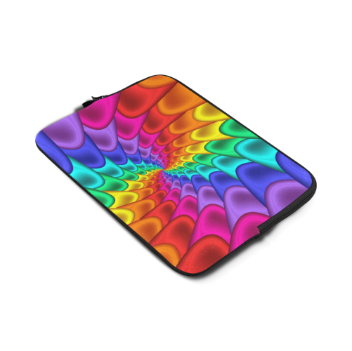 Psychedelic Rainbow Spiral Macbook Air 13""