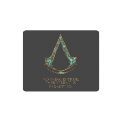 Assassins Creed Skyrim Lexicon Mashup Rectangle Mousepad