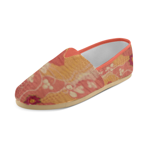 Pink Pedals Women's Casual Shoes (Model 004)