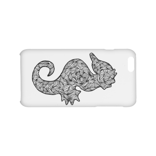 Black and White Seahorse Hard Case for iPhone 6/6s plus