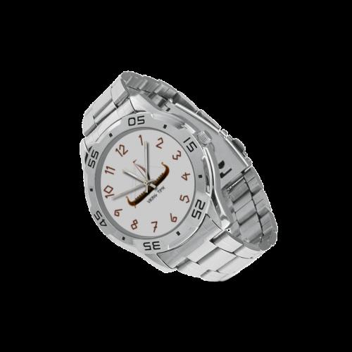 OVS 1-2 Men's Stainless Steel Analog Watch(Model 108)