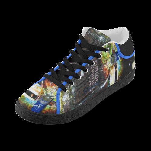 GOODWOOD EAGLE VS PREDATOR SHEVKOFF VODKA Men's Chukka Canvas Shoes (Model 003)