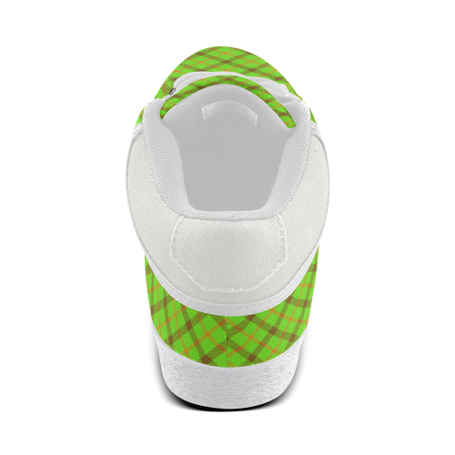 test plaid 1 Men's Chukka Canvas Shoes (Model 003)