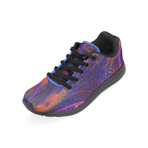 BEADED PAISLEY Men's Running Shoes (Model 020)
