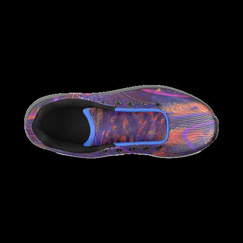 BEADED PAISLEY Men's Running Shoes (Model 020)