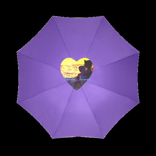 lovers heart Foldable Umbrella (Model U01)