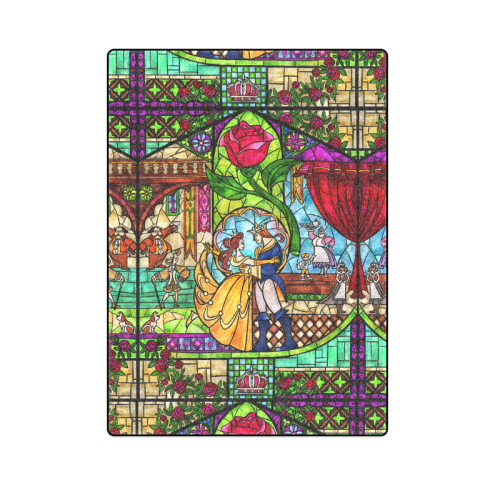 """Tale as Old as Time Blanket 58""""x80"""""""
