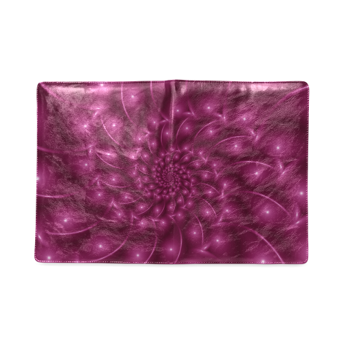 Berry Pink Glossy Spiral NoteBook B5 Custom NoteBook B5