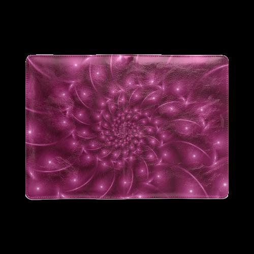 Berry Pink Glossy Spiral NoteBook A5 Custom NoteBook A5