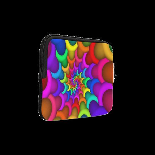 Psychedelic Rainbow Spiral iPad mini