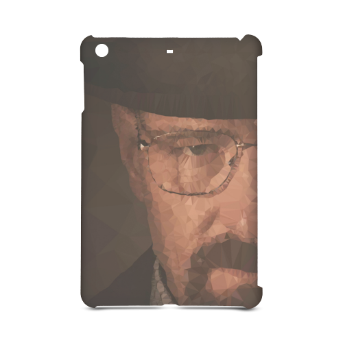 walter white low poly Hard Case for iPad mini 2