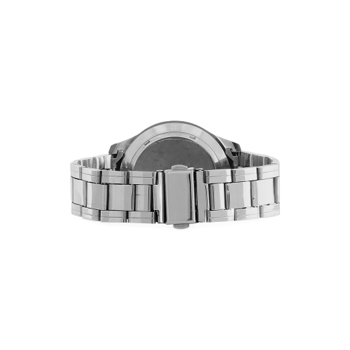 Conceptual Billiards Pool Balls Men's Stainless Steel Analog Watch(Model 108)