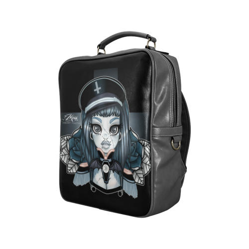 Officer Ophelia Bag Square Backpack (Model 1618)