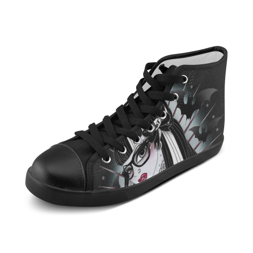 F your beauty standards Chuck Taylors Women's High Top Canvas Shoes (Model 002)