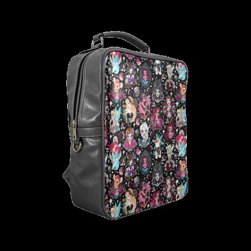 FanGirl Bag Black Square Backpack (Model 1618)