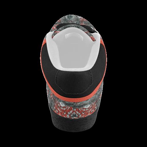 ABSTRACT FLAG Men's Chukka Canvas Shoes (Model 003)