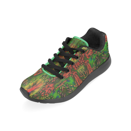 ABSTRACT NATIVE FLAG Men's Running Shoes (Model 020)
