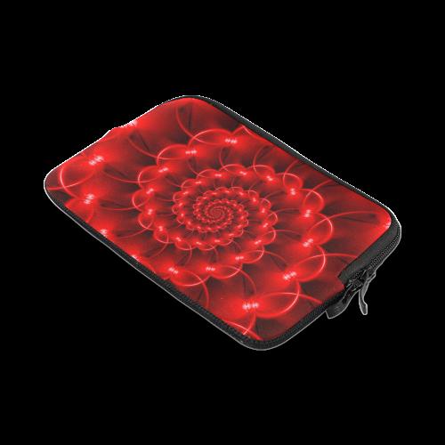 Glossy Red Spiral iPad mini