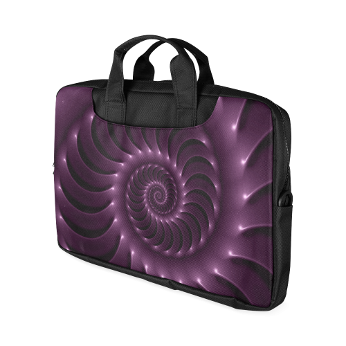 "Glossy Purple Spiral Macbook Air 13""(Two sides)"