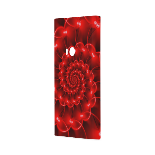 Glossy Red Spiral Hard Case for Nokia Lumia 920
