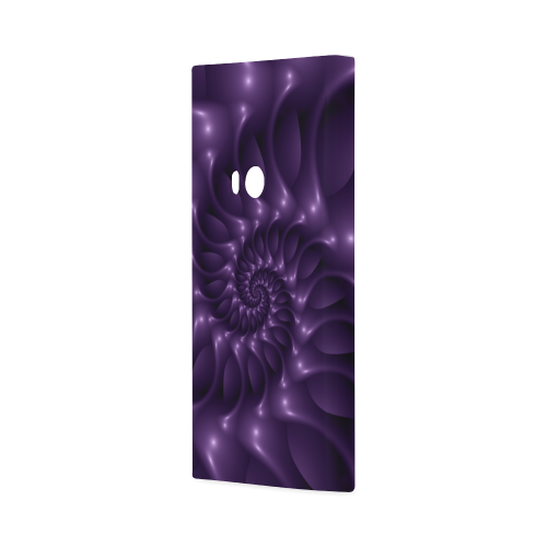 Glossy Purple Spiral Hard Case for Nokia Lumia 920