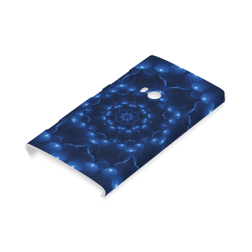 Glossy Blue Spiral Hard Case for Nokia Lumia 920
