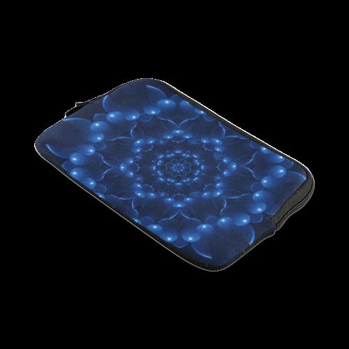 Glossy Blue Spiral iPad mini