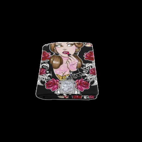 """Tattooed Beauty Baby Blanket Blanket 40""""x50"""""""
