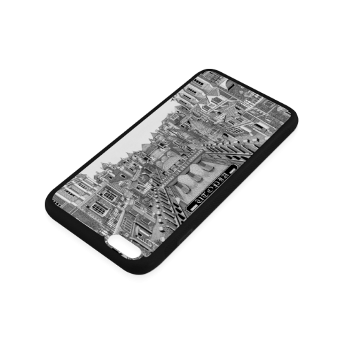 UTOPIA by Kelvin Coles Rubber Case for iPhone 6/6s Plus