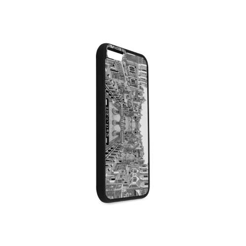 UTOPIA by Kelvin Coles Rubber Case for iPhone 6/6s