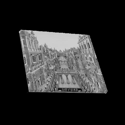 "UTOPIA by Kelvin Coles Canvas Print 20""x16"""