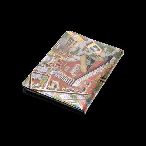 Time Slip By Kelvin Coles Custom Notebook A5 Id D80041