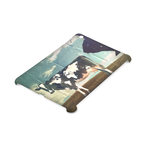 Surreal Dairy Cow With World Map Hard Case for iPad mini 2