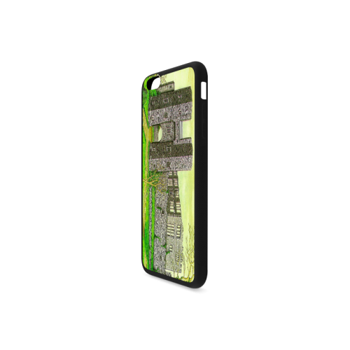 Berry Pomeroy Castle by Kelvin Coles Rubber Case for iPhone 6/6s Plus