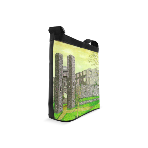 Berry Pomeroy Castle by Kelvin Coles Crossbody Bags (Model 1613)