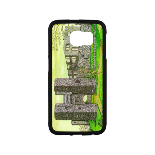 Berry Pomeroy Castle by Kelvin Coles Rubber Case for Samsung Galaxy S6