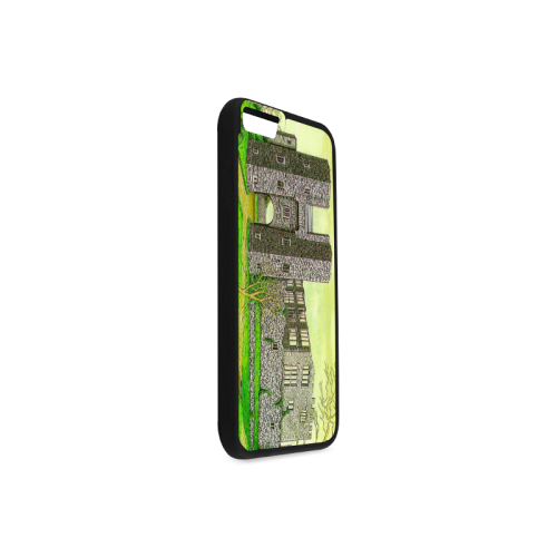 Berry Pomeroy Castle by Kelvin Coles Rubber Case for iPhone 6/6s